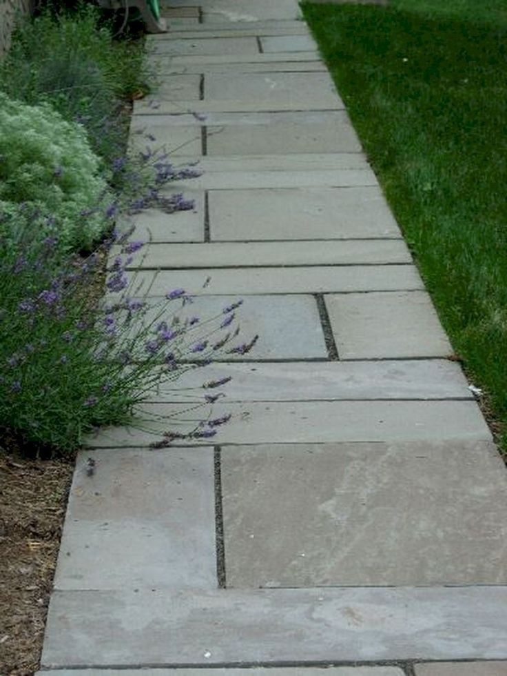 35 Affordable Pathway For Your Front Yard #affordablepathway #pathwayfrontyard #pathway ~