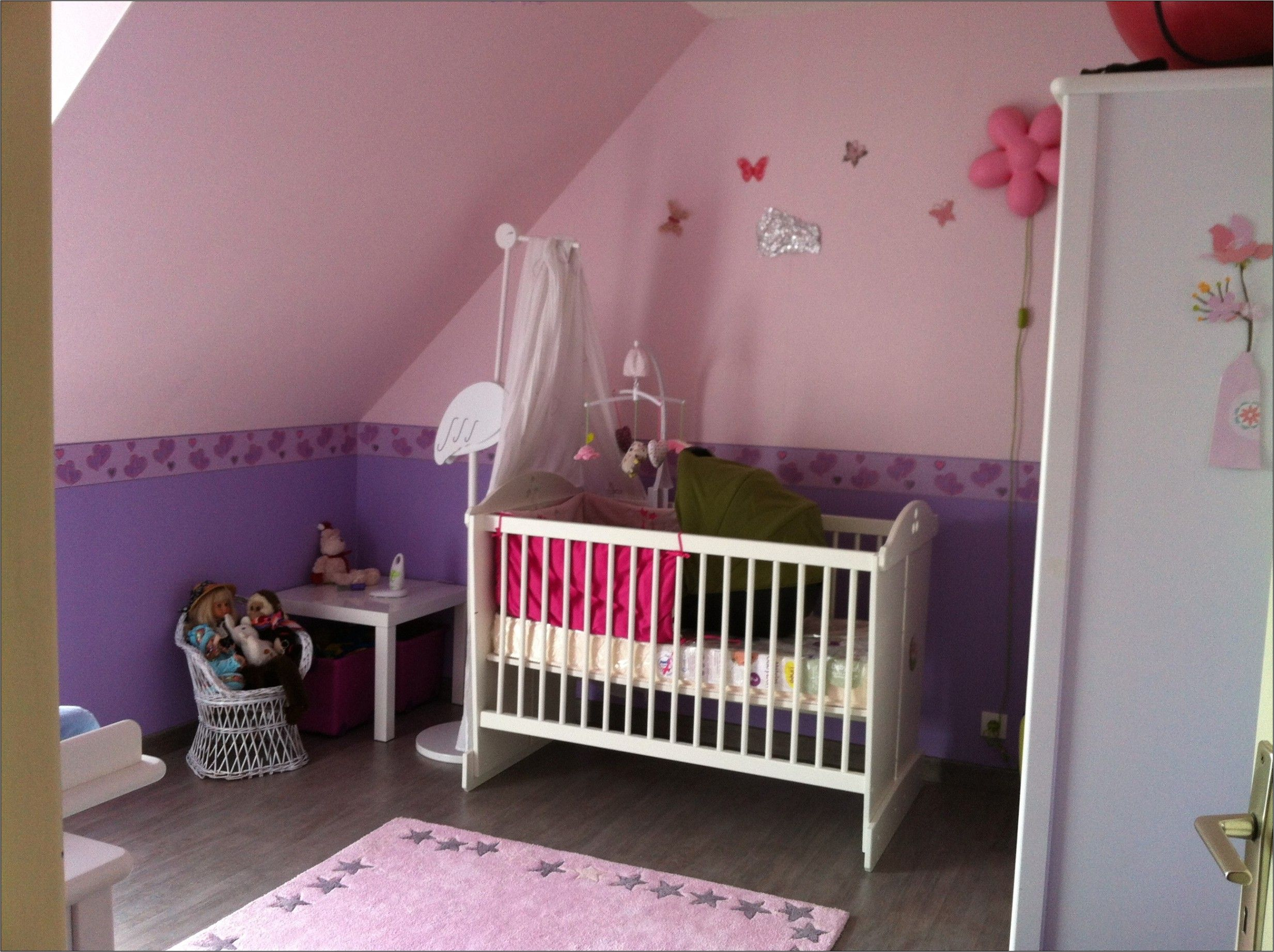 Idee Deco Chambre Bebe Fille Gris Et Rose Idee Deco Chambre Bebe