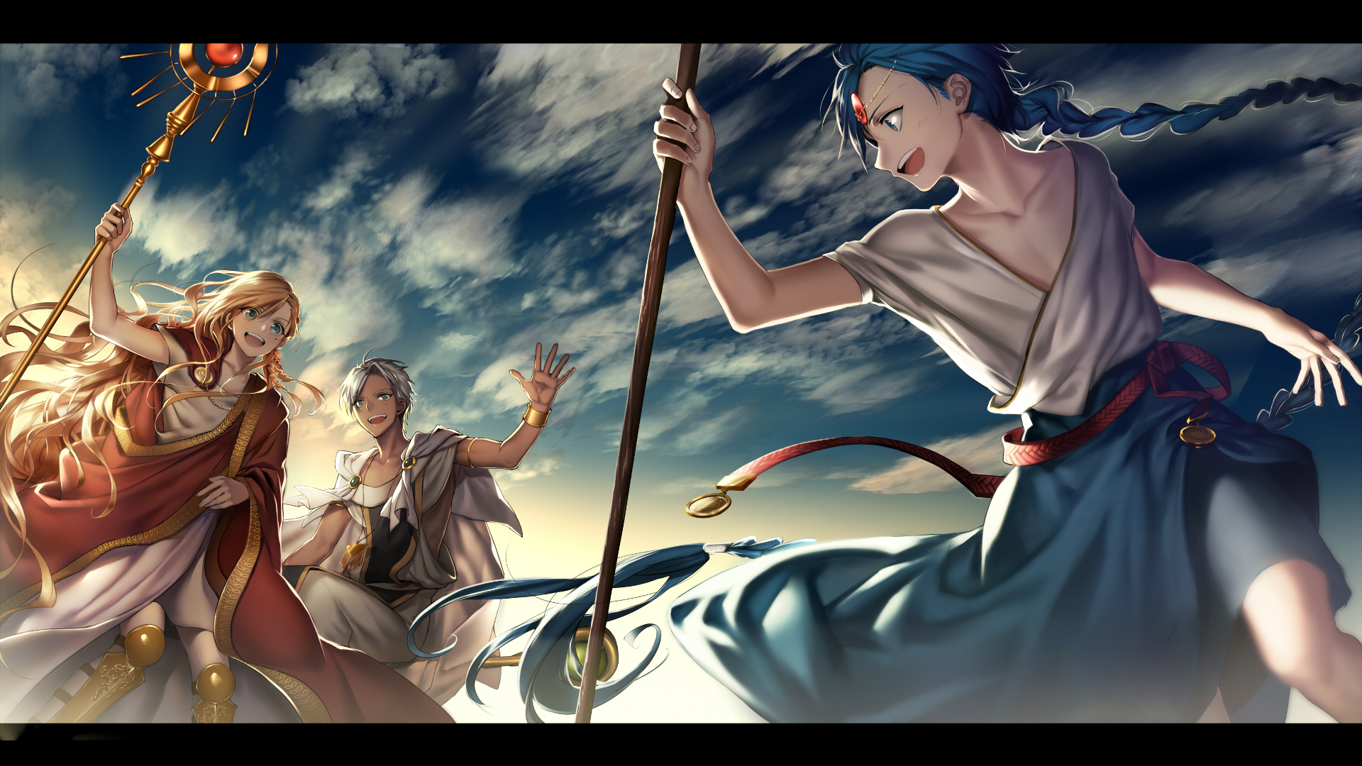 1920x1080 Magi The Labyrinth Of Magic Wallpaper Background Image
