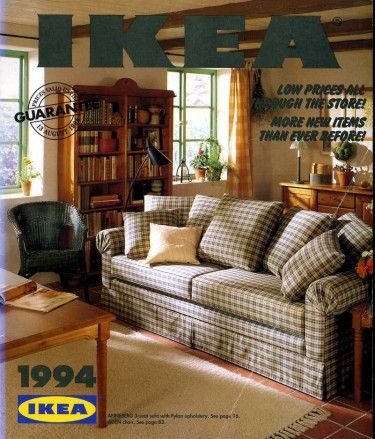 Ikea catalogue 1994 note the pine furniture very popular for Interior decoration 1990s