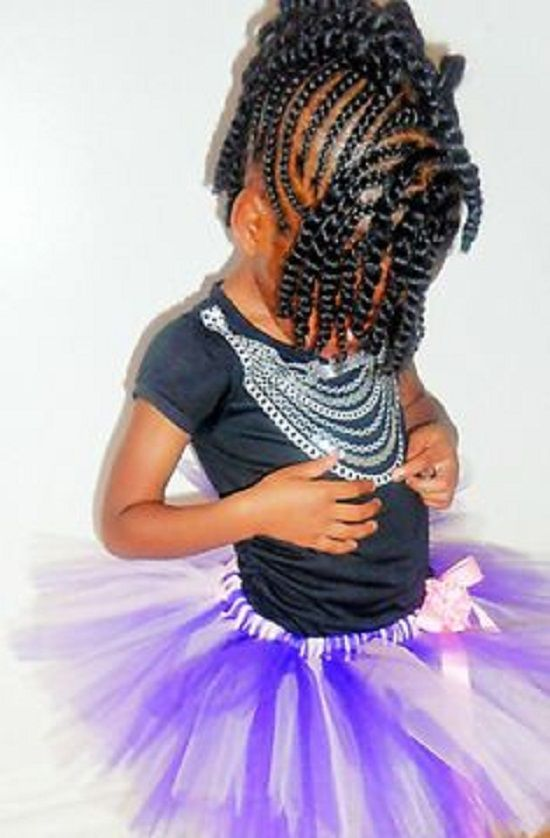 Super 1000 Images About Kids Braids Hairsytles On Pinterest African Hairstyles For Women Draintrainus