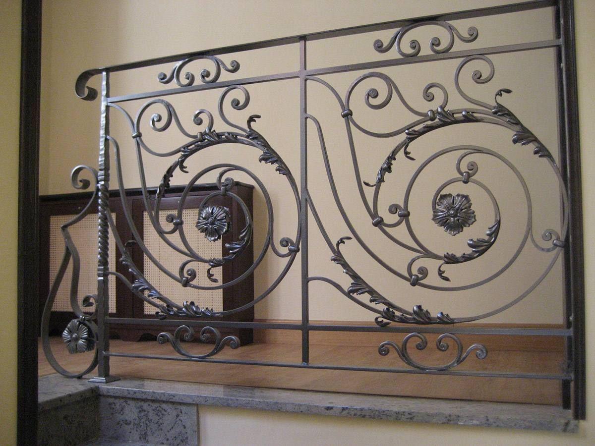 Barandillas para escaleras en Madrid   Cerrajería África   Forja ...