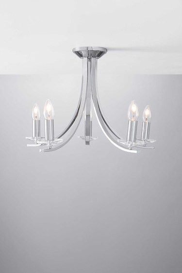 Malone flush ceiling light bhs