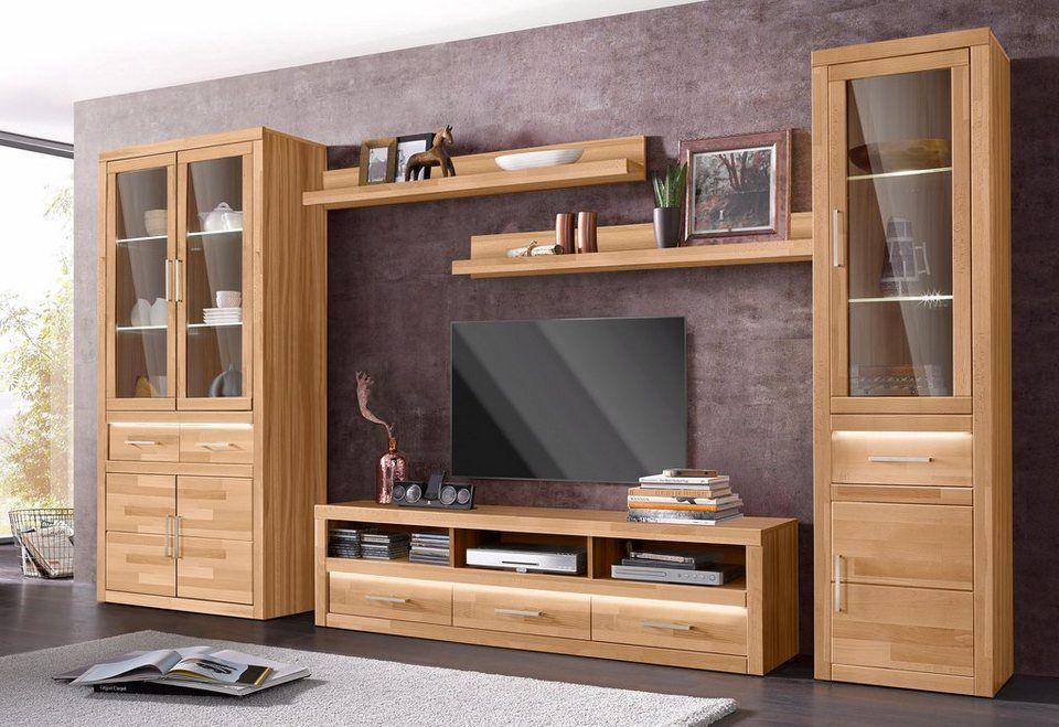 Wohnwand, Set, 5 tlg, Pflegeleichte Oberflächen online ...
