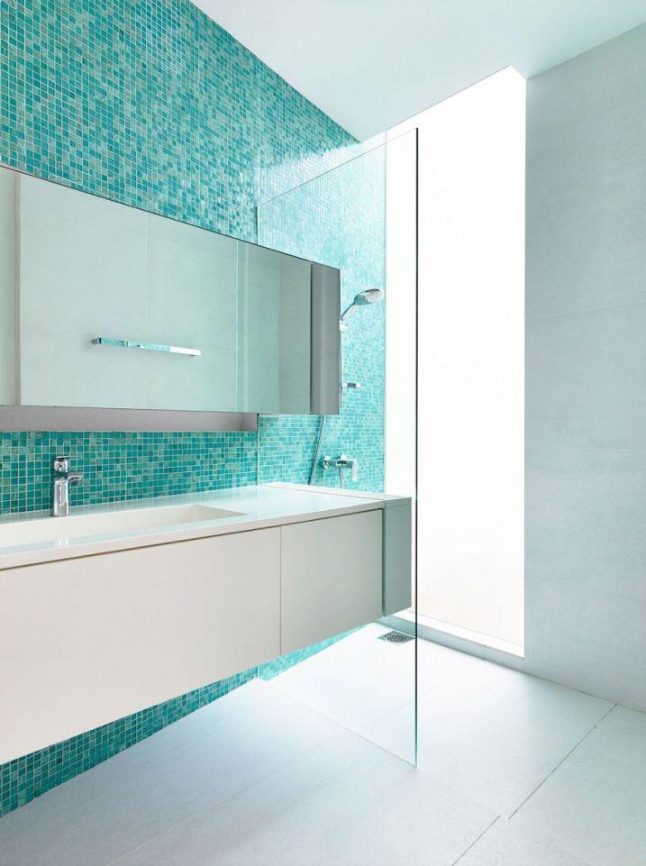 Salle de bain mosaique turquoise Pinterest Koh phangan