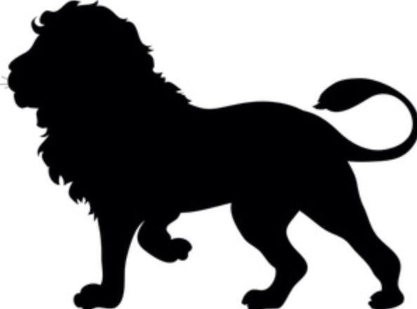 Pin By Angela Johnson On Dyr Lion Silhouette Silhouette Clip Art Silhouette Art