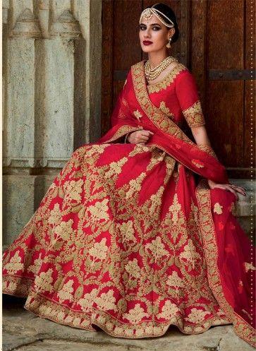 0a136d9162 Designer Dulhan Lehenga   Rajwadi Wedding in 2019   Bridal lehenga ...