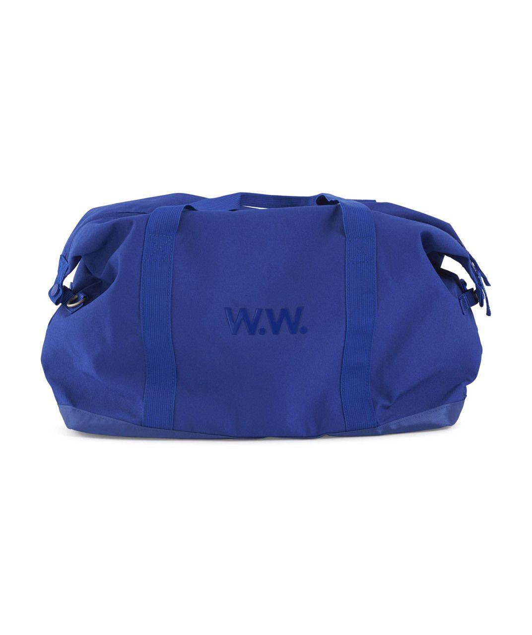 Lust, Covet, Desire - Tony Weekender Bag, USD 180.00, blue weekender bag, blue messenger bag, available at Lust Covet Desire