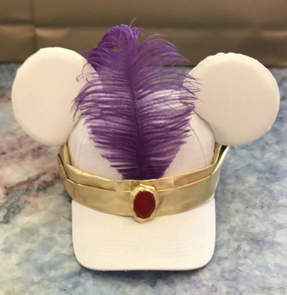79d88b32fec22 Aladdin Disney Inspired Men's Mouse Ears by AllCreaturesDesigns ...