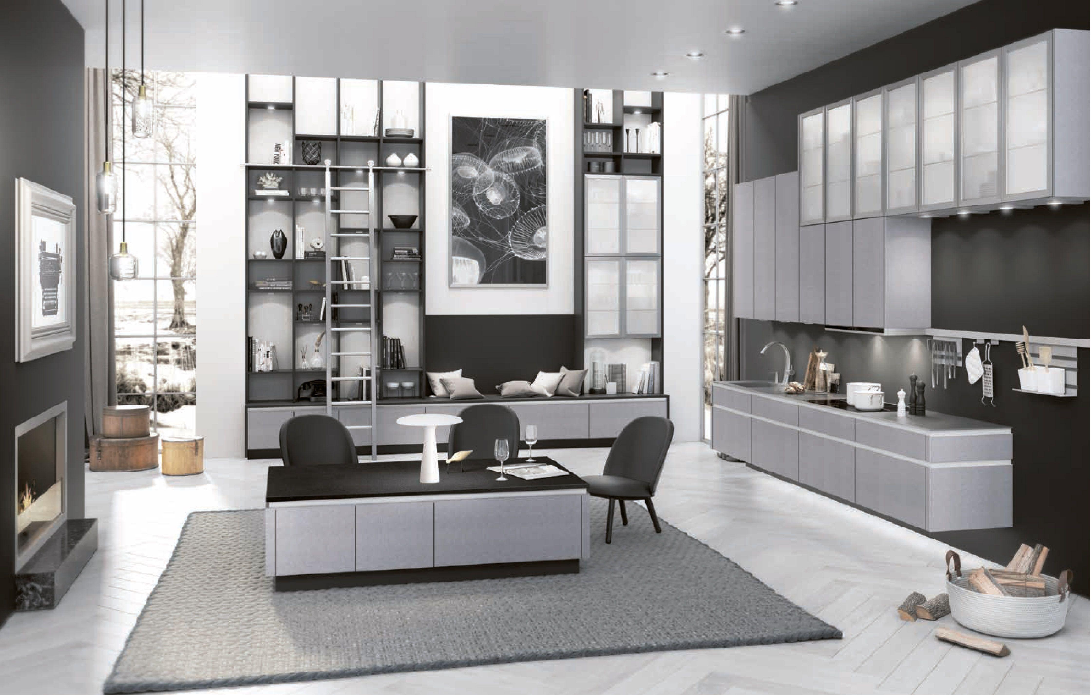 2019 Room In Room Www Kudia Ro Black Kitchens Kitchen Trends White Kitchen Remodeling