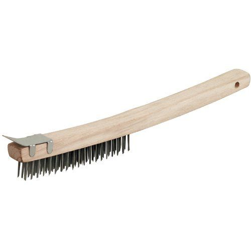 Michigan Industrial Tools Mit Tool Long Handle Wire Brush With Scraper By Tekton 4 99 Mit Long Handle Wire Brush With Scraper Features 13 3 4 Durable Hardw
