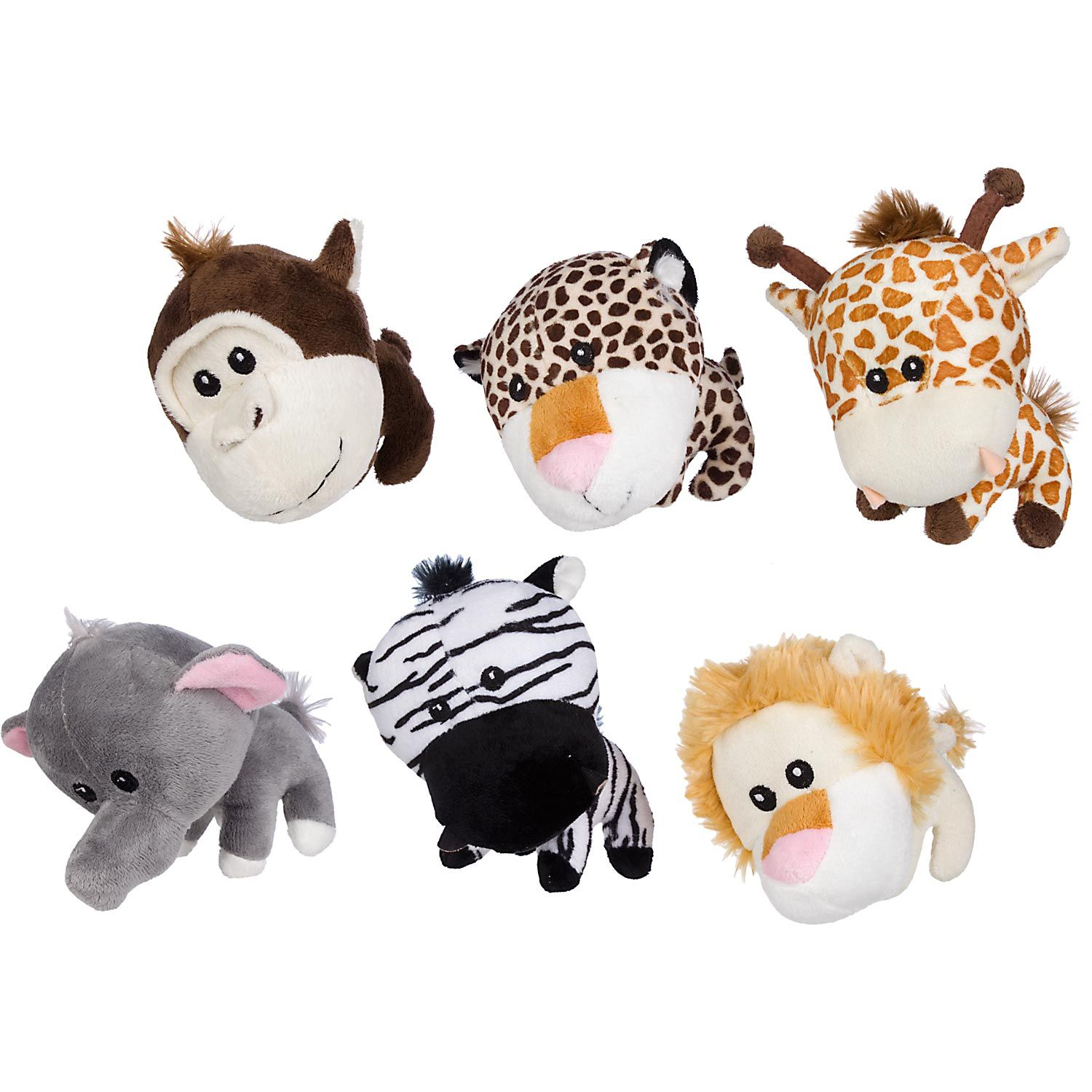 Petco Big Head Jungle Animal Plush Dog Toy I Have The Lion One