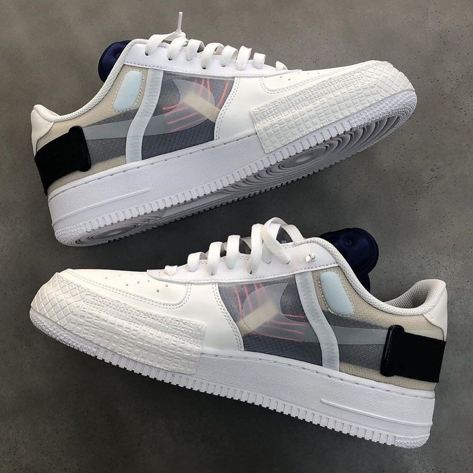 The NIKE AIR FORCE 1 LOW TYPE LX were one of the most sought