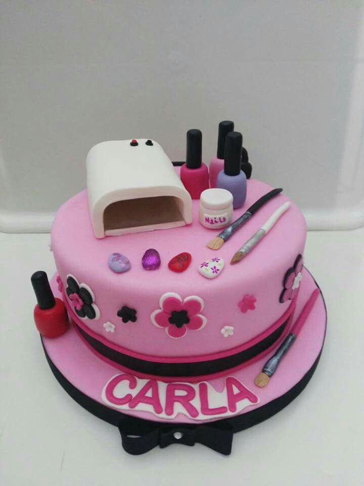 Kids Spa Party Cake