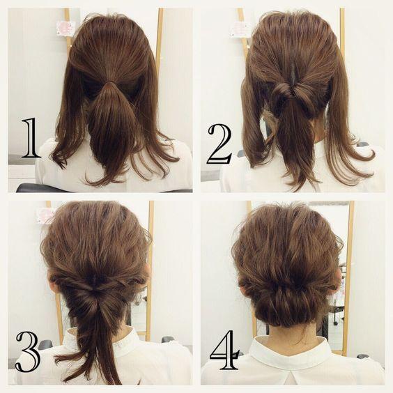 Twist For Short Hair Via Hair Styles Medium Hair Styles Short Hair Styles