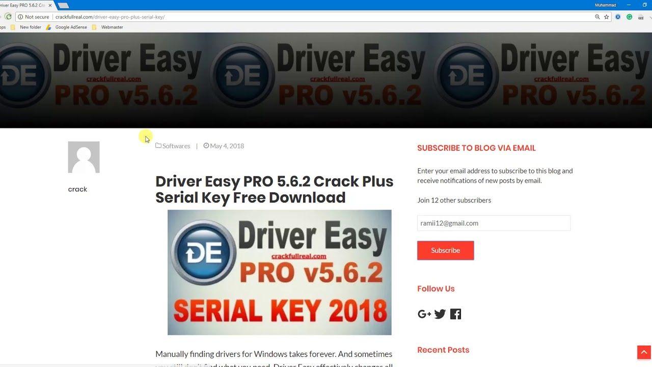 driver easy 5.6.2 crack key