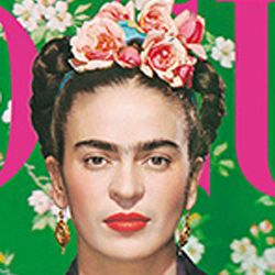 Frida Kahlo Covers 'Vogue' Mexico Magazine