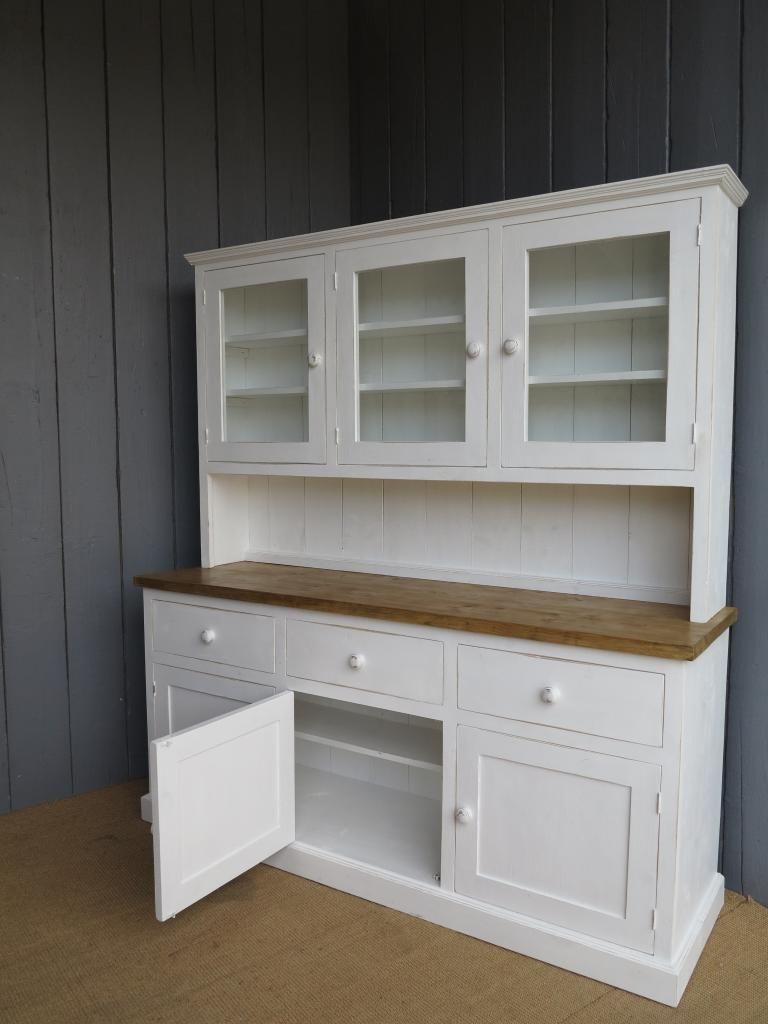 Kitchen Dresser this large kitchen dresser can hold it all its over 6 ft wide this Kitchen Dresser Google Search