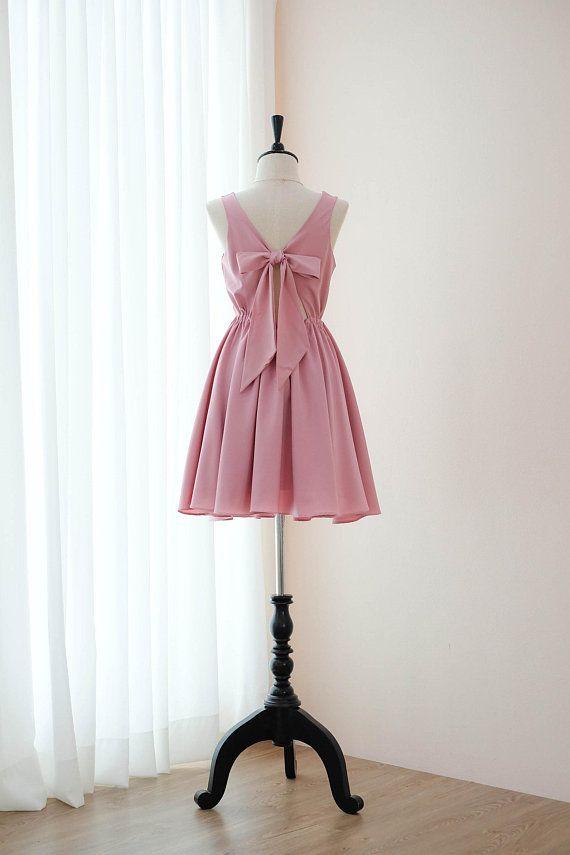 18910b4e12c Nude pink dress Pink Bridesmaid dress Prom dress Lolita Wedding ...