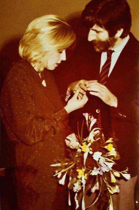 Krystyna Janda I Edward Klosinski Slub 1981 Wedding Photos Just Married Photo