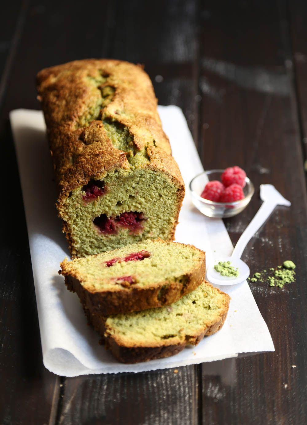cake au th vert matcha et framboises 260g de farine 20g de poudre d amandes 300g de sucre en. Black Bedroom Furniture Sets. Home Design Ideas