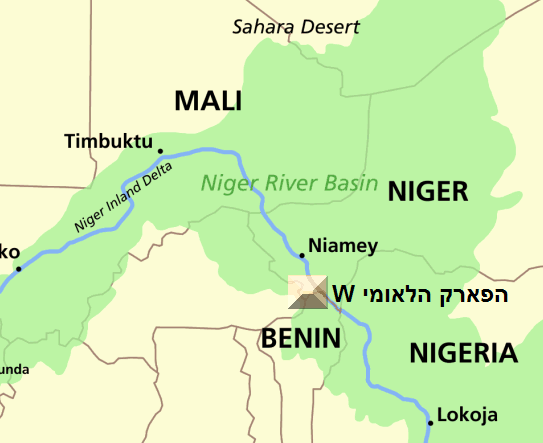 Niger river map project pinterest geography niger river map sciox Choice Image