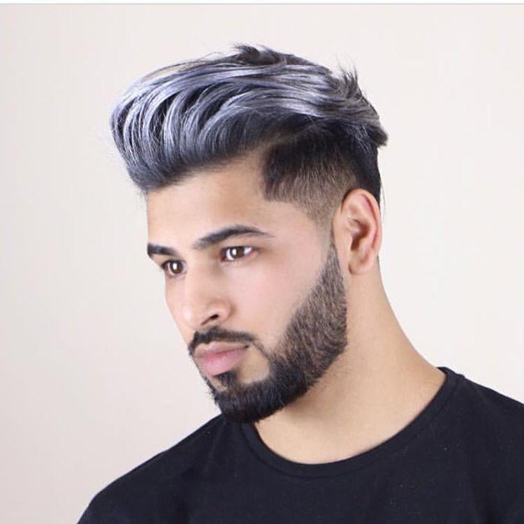 silver hair dye men wwwpixsharkcom images galleries