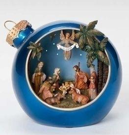 Musical 6 inch Led Nativity Christmas Ball Figure #66019  http://www.tjsvariety.com/musical-6-inch-led-ntvty-christmas-ball-figure.html