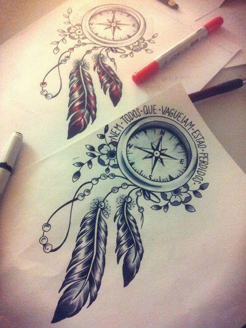 dream-catcher-tattoo-sketch-3.jpg (506×675)