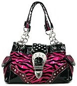 5d8a853a89b3 Hot pink animal print purse. Omg I m in love