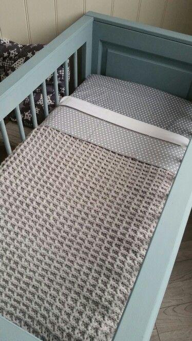 Gehaakte Ledikantdeken Wafelsteek Wol Van Zeeman Crochet Baby