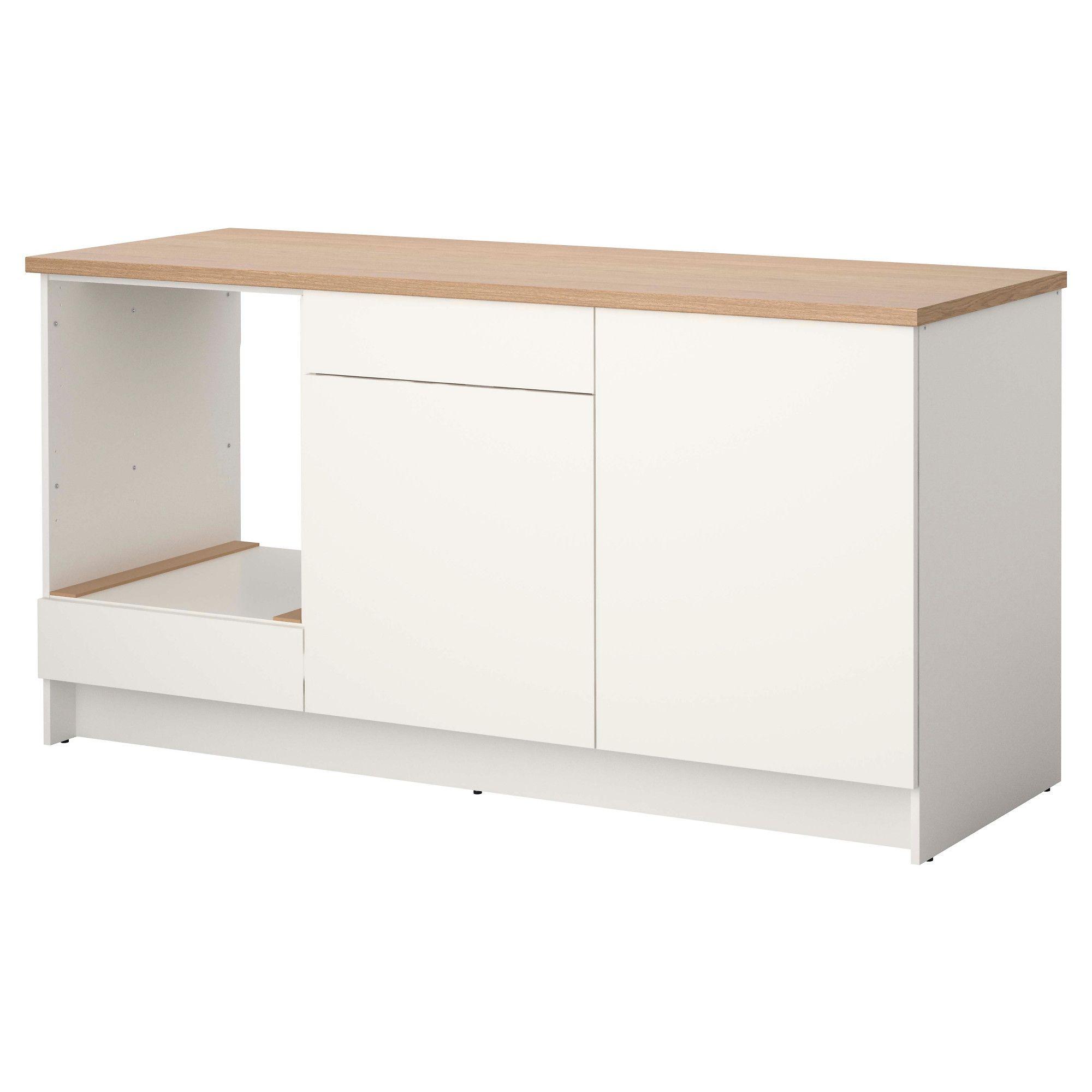 Knoxhult Element Bas Avec Portes Et Tiroir Blanc Ikea Ikea Porte Armoire Tiroir