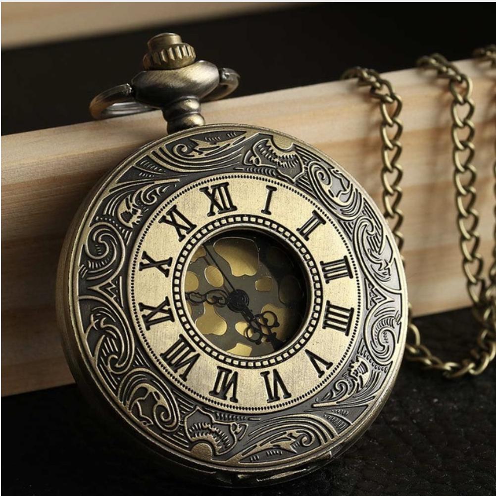 Steampunk Retro Bronze Pocket Watch Steampunk pocket