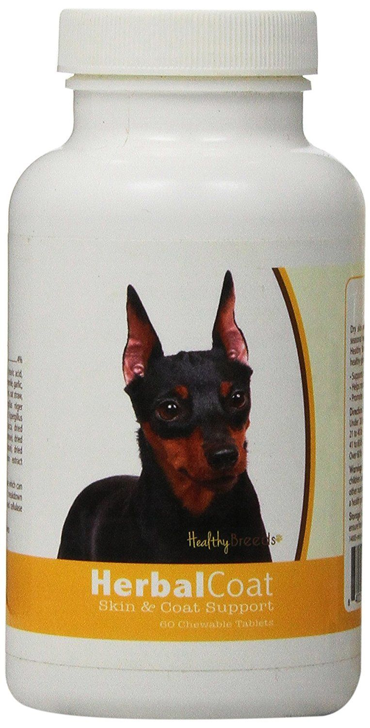 Healthy Breeds Herbal Coat and Skin Support Chewables,  Miniature Pinscher  / 60 Count >>> Check out the image by visiting the link. (This is an affiliate link and I receive a commission for the sales) #MyDog