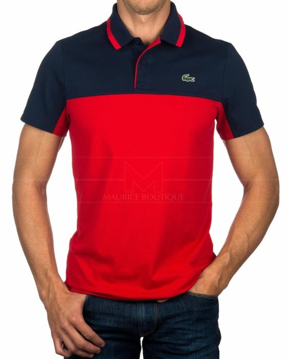 7d2a14c24 Polos Lacoste Sport - Azul Marino   Rojo