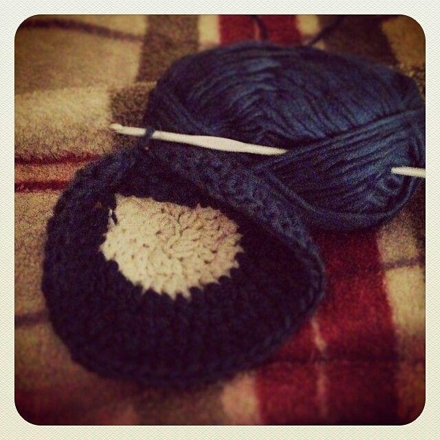 Lavorando un .... cappello #miecreazioni #uncinettareconamor