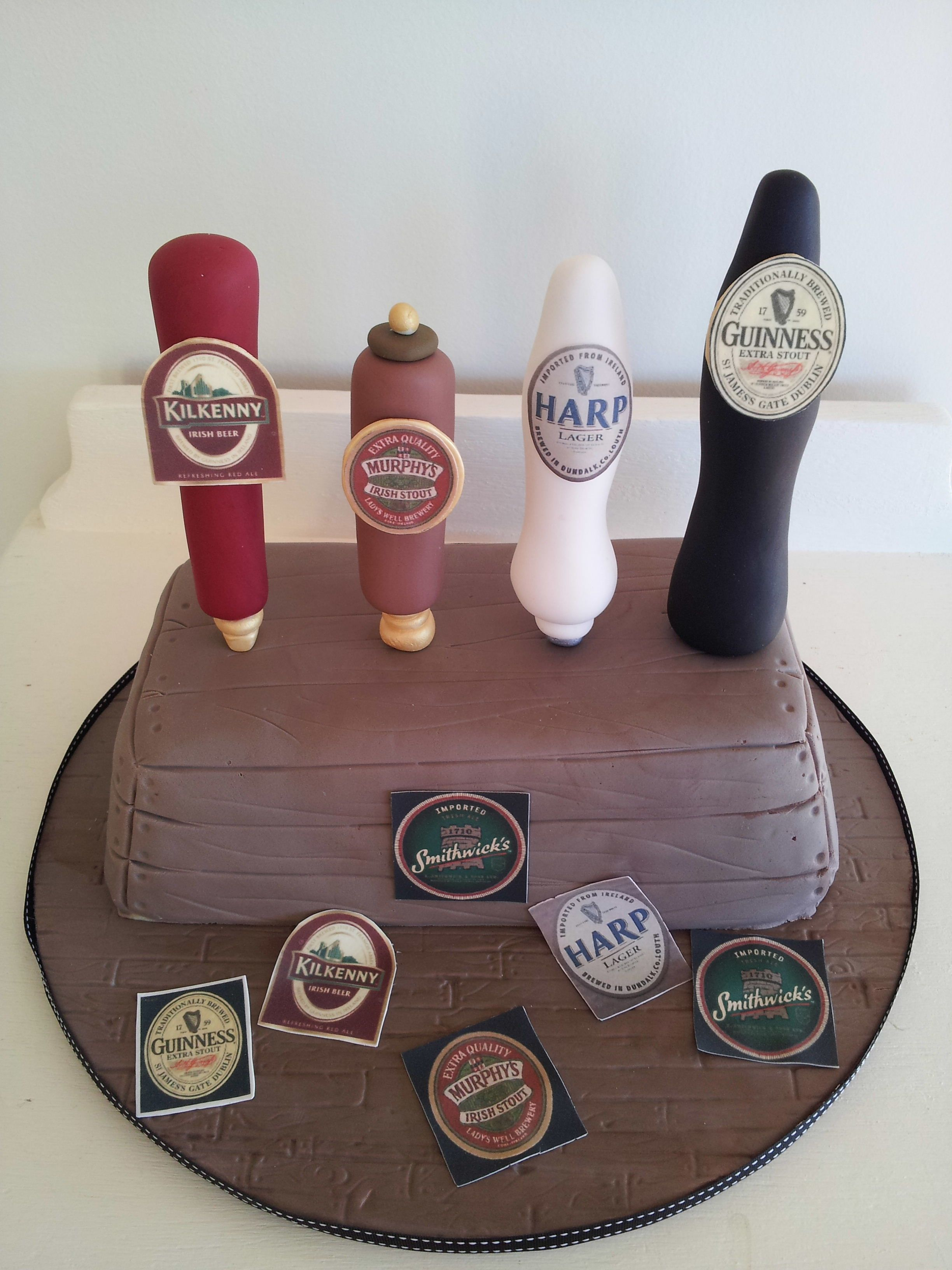 Birthday cakes for adults men google search adult cakes pinterest beer cakes birthdays - Mens cake decorating ideas ...
