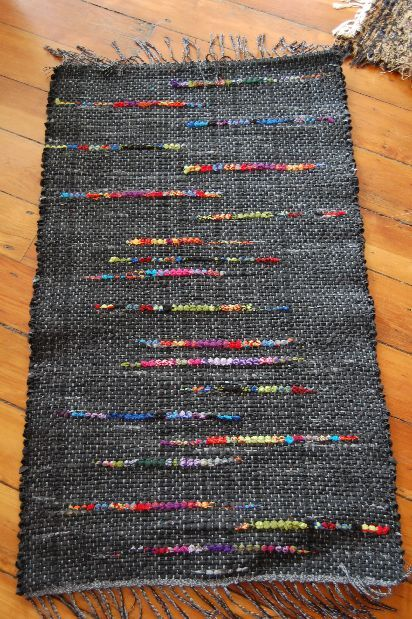 Made With Old Cotton Socks Homo Home Loom Weaving