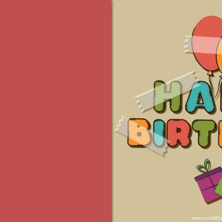Happy Birthday Gift Certificate Gotta Try This Pinterest