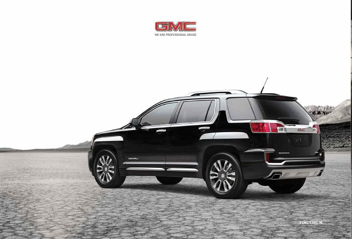 Downloadable 2017 Gmc Terrain Brochure With Images Gmc Terrain