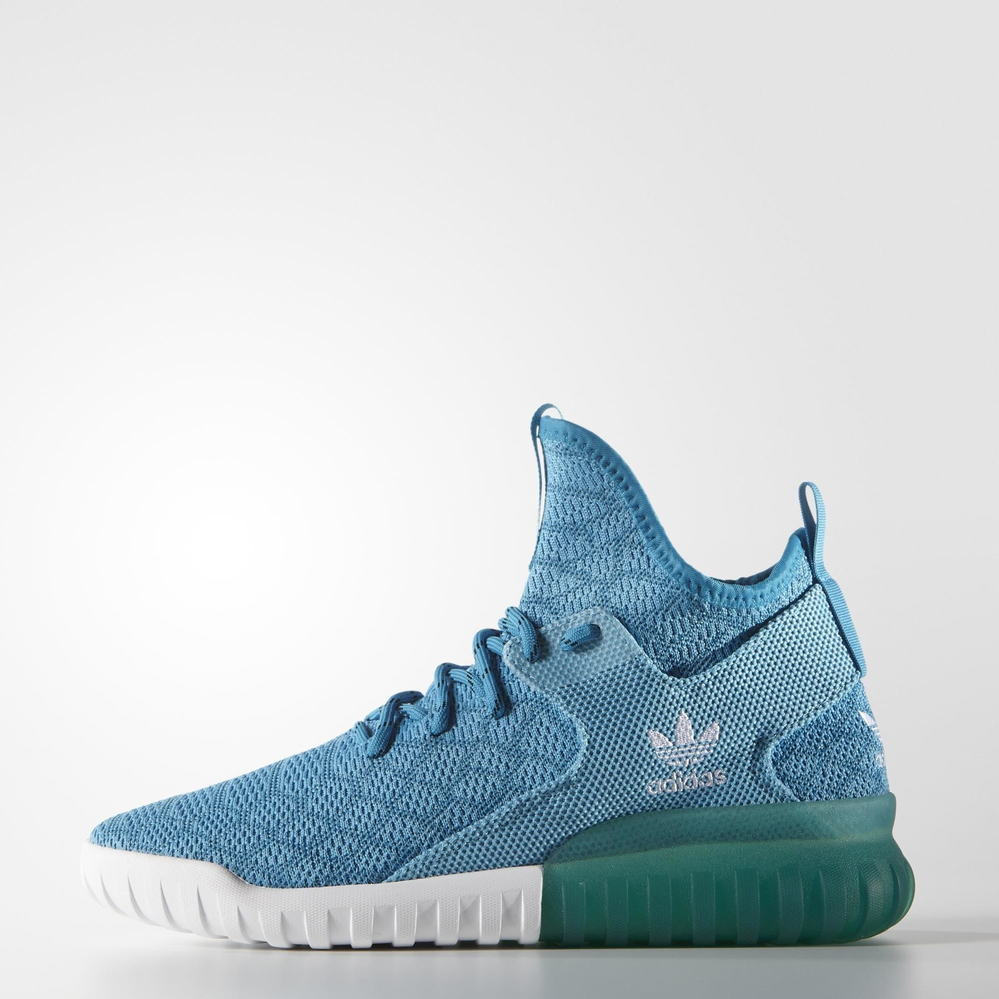 uk sale adidas tubular x knit blue shoes