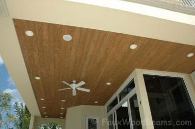 Faux Wood Ceiling Panels Beams Mantels Low Maintenance