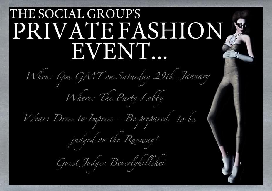 The Social Group Private Fashion Event Invitation \ News Open It - fresh formal invitation to judges