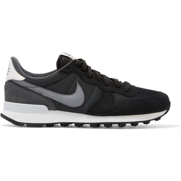 wholesale dealer d35b7 076a8 ... amazon nike internationalist suede leather and mesh sneakers womens  size 1570 mxn liked on polyvore featuring