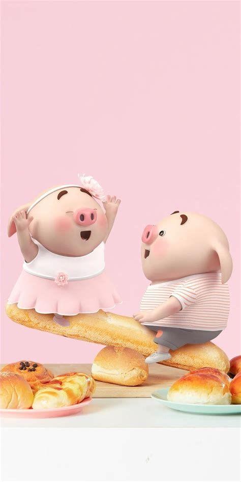 Pig 🍭 | Cute Piglets, Cute Pigs, Cute Rabbit Images