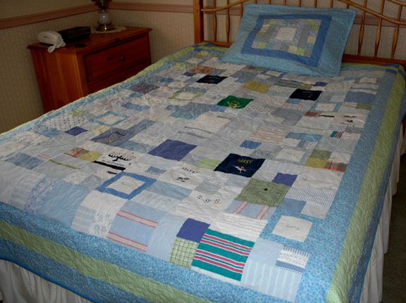 Keepsake Quilts Make A Quilt From Baby Clothes Wee Ones