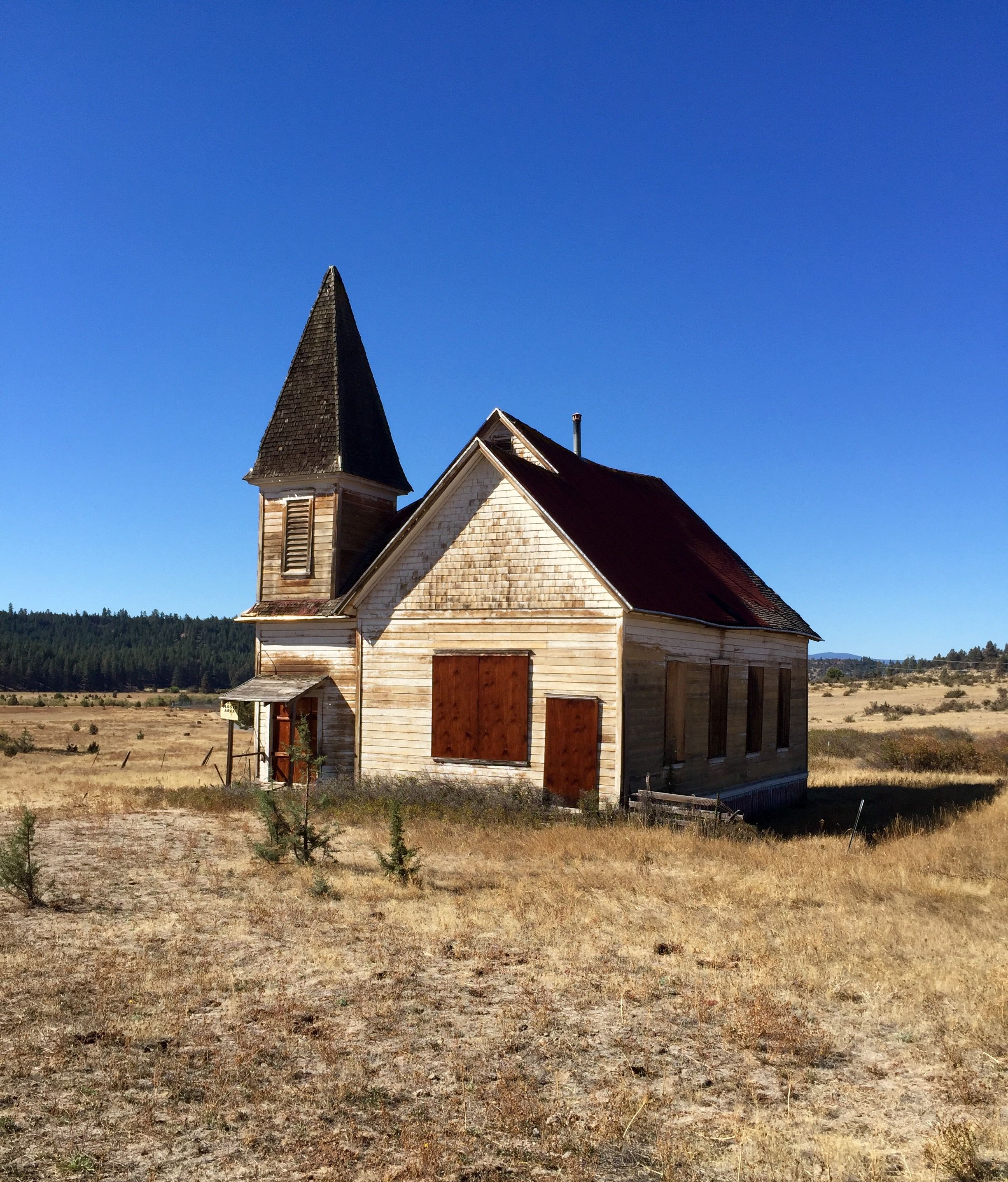 Abandoned Church In The Community Of Simnasho, Warm