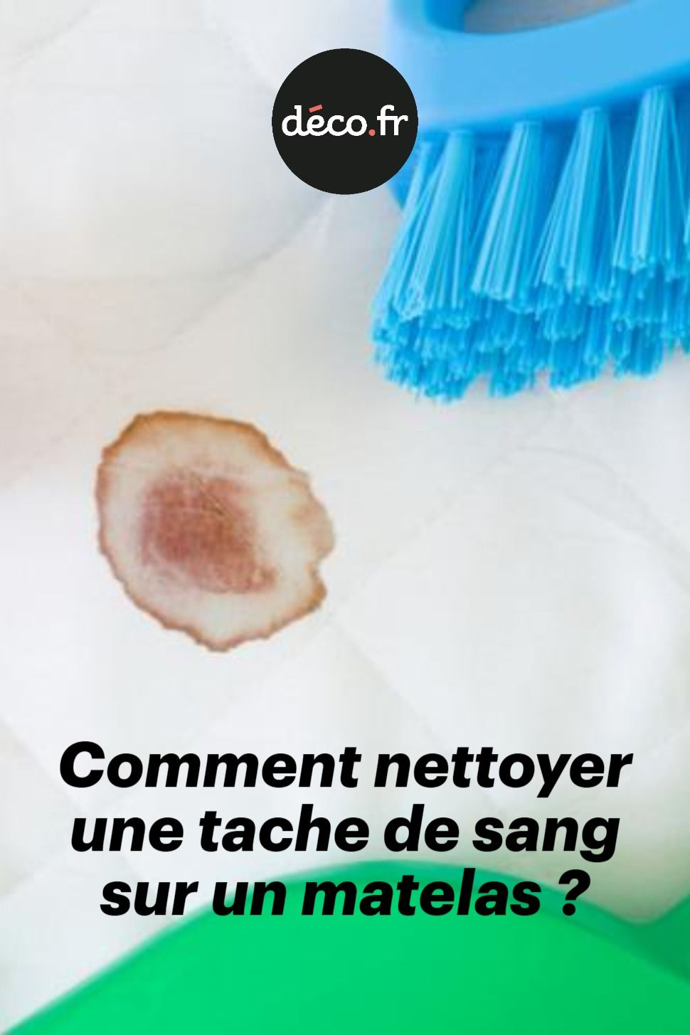 Nettoyer Une Tache De Sang : nettoyer, tache, Comment, Nettoyer, Tache, Matelas, Sang,, Nettoyer,