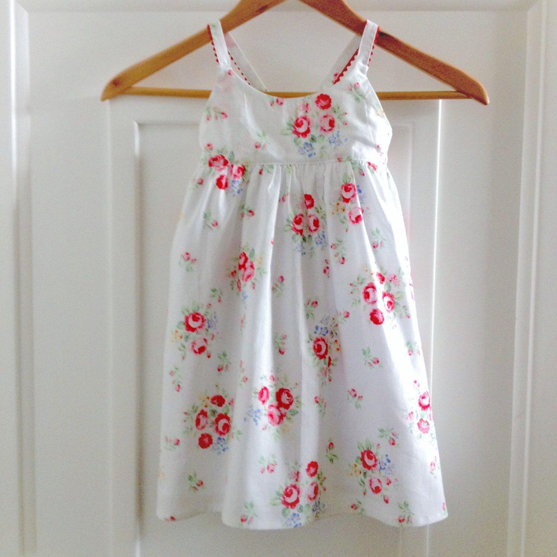 Girls Dress Size 2 Hummingbird Dress kids clothing Shabby Chic