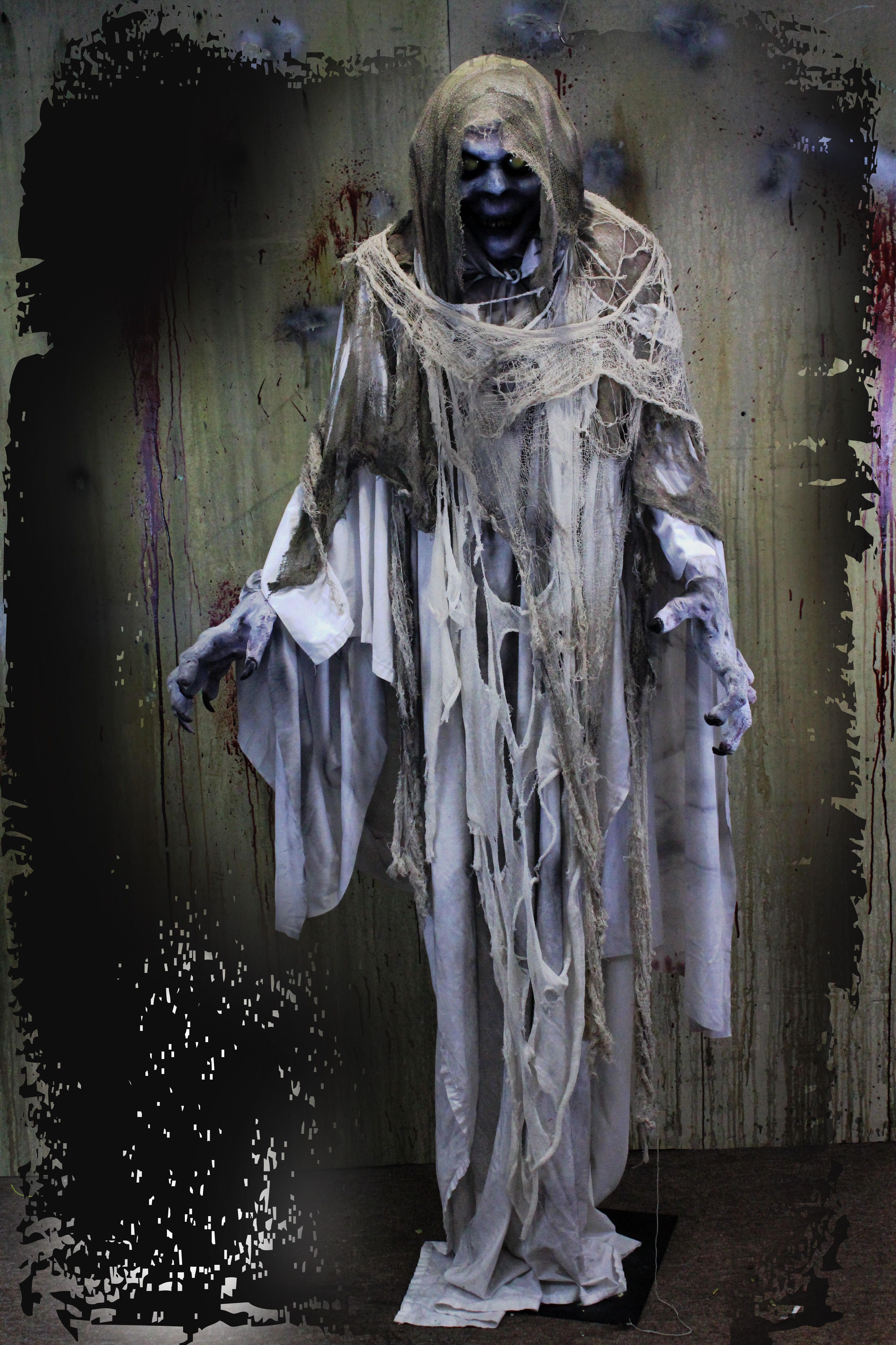 7ft Ghost Halloween Haunted House Prop C3 A2 C2 Ab ...